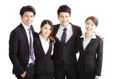 Portrait Of happy Young successful Business team Stock Photography