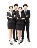 Portrait Of happy Young successful Business team Stock Images