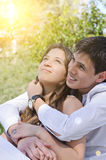 Portrait happy young teenage Royalty Free Stock Images
