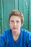 Portrait of happy young teenage boy Royalty Free Stock Image