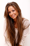 Portrait of a happy young woman Royalty Free Stock Photography