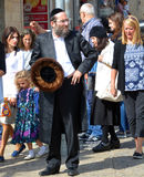Portrait of Hasidism man. JERUSALEM ISRAEL 26 10 16: Portrait of Hasidism man is Jewish religious sect. It arose as a spiritual movement in contemporary Ukraine stock photography