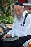 Portrait of Hasidism man Stock Photo