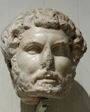 Portrait Head of Hadrian Royalty Free Stock Photo