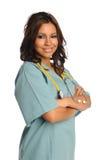 Portrait of HEalth Care Provider stock image