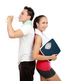 Portrait of healthy couple Stock Photography