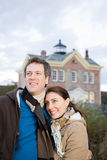 Portrait of a heterosexual couple Royalty Free Stock Photography