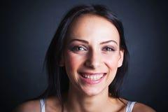 Portrait heureux d'adolescent Photographie stock libre de droits