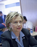 Portrait of Hillary Clinton Stock Image