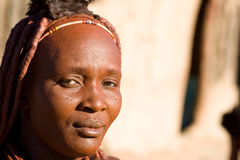 Portrait of a Himba woman. Stock Images
