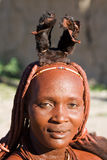 Portrait of a Himba woman. Stock Photography