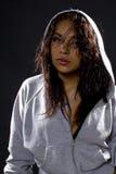 Portrait of a Hip Hop Dancer stock photo
