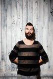 Portrait of hipster man Royalty Free Stock Image