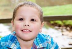 Portrait of Hispanic boy Stock Photography