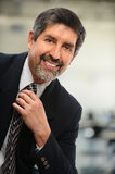 Portrait of Hispanic businessman Smiling Royalty Free Stock Photos