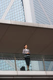 Portrait Of Hispanic Businesswoman Outside Office Royalty Free Stock Photo