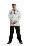 Portrait of Hispanic Doctor Standing Stock Photos