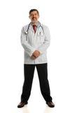 Portrait of Hispanic Doctor Standing Stock Photos