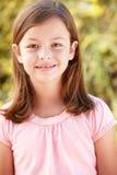 Portrait Hispanic girl outdoors Royalty Free Stock Images