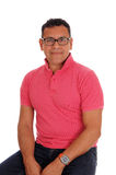 Portrait of a Hispanic man. Royalty Free Stock Images
