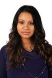 Portrait of Hispanic Woman Stock Photos