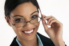 Portrait of a Hispanic Woman stock photos
