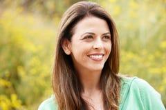 Portrait hispanic woman outdoors Royalty Free Stock Image