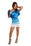 Portrait of Hispanic Woman Posing Stock Images