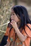 Portrait Hmong girl Laos Royalty Free Stock Image