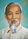 Portrait of Ho Chi Minh Stock Image