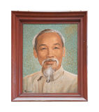 Portrait of Ho Chi Minh Royalty Free Stock Images