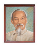 Portrait of Ho Chi Minh Royalty Free Stock Photos