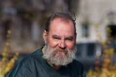 Portrait Homeless Man Royalty Free Stock Photos