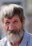 Portrait Homeless Man Stock Photos