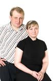 Portrait of husband and wife Stock Photos