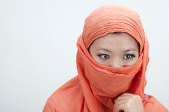 Portrait if an islamic women Stock Photography