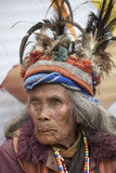 Portrait ifugao woman in Banaue, Philippines Stock Image
