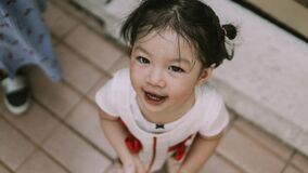 Free Portrait Image Of Funny Asian Toddler Girl 2-3 Years Old Stock Photos - 185271403