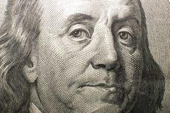 Portrait image of $100 US dollars Royalty Free Stock Image