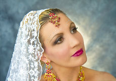 Portrait India Woman Royalty Free Stock Photo