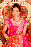 Portrait of Indian Bride Royalty Free Stock Images