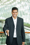 Portrait of an Indian business man. Royalty Free Stock Photos
