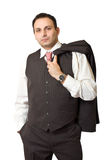 Portrait of an indian businessman Royalty Free Stock Photos