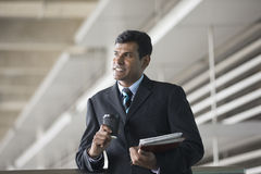 Portrait of an Indian businessman. Royalty Free Stock Image