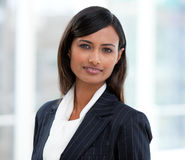 Portrait of an indian businesswoman Stock Photo