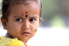 Portrait of Indian Child Stock Photos