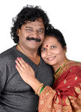 Portrait of Indian Couple Royalty Free Stock Photos
