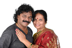 Portrait of Indian Couple Stock Images