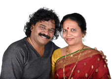 Portrait of Indian Couple Royalty Free Stock Photo