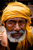 Portrait of an Indian Cripple Julian Bound Royalty Free Stock Photo